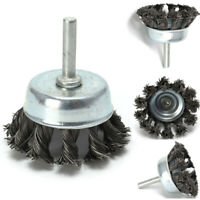 """6/"""" Knot Cup Brush 5//8-11nc angle grinder wire BIG!"""