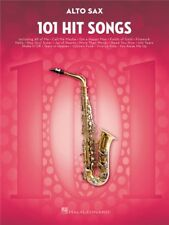 101 Hit Songs For Alto Saxophone Learn to Play Pop Chart Tunes SAX MUSIC BOOK