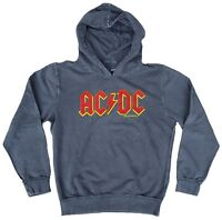 Official AC/DC ACDC Logo AMPLIFIED Rock Star Vintage Kapuzen Pulli Hoodie g.M