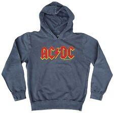 AMPLIFIED Official AC/DC ACDC Logo Rock Star Vintage Kaputzen Pulli Shirt g.L