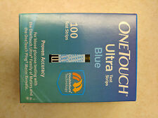 OneTouch Ultra Blue Test Strips 100 Count Box  exp. 01-31-2019