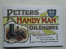Petter Handyman Oil Engine Catalogue (1910 & 1911)