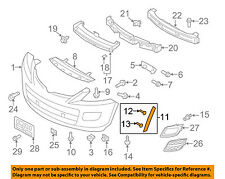 MAZDA OEM 10-15 CX-9 Front Bumper Grille Grill-Side Cover Right TE6951W70