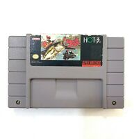 SUPER BLACK BASS Super Nintendo SNES Game - Tested & Working!