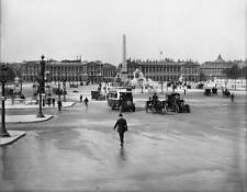 OLD PHOTO FRANCE Paris Panorama Of The Concorde Place About 1910