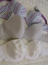 36D Bra Bundle x3 underwired bras inc.FANTASIE   ladies lingerie (674)