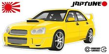 Subaru WRX Impreza   - Yellow - JDM - JapTune Brand