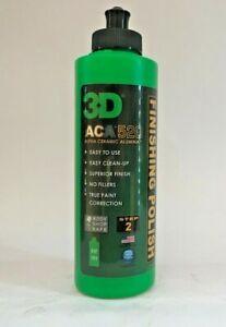 3D ACA 520 Alpha Ceramic Alumina Finishing Polish  Farecla 3M Rupes 236ml