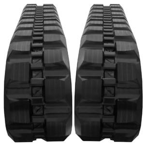 320x86x50 Rubber Tracks D Lug Qty 2 CASE 420CT TR270 JCB 180T NEW HOLLAND C175
