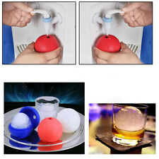 Cool Summer Ice Cube Mold Silicone Blue Wars Death Star Round Ball Tray Desert