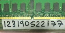 2GB  2RX8 DDR2 PC PC2 PC2-5300P 667MHZ 1.8V 5300P 240PIN  DUAL RANK 128X8 RDIMM
