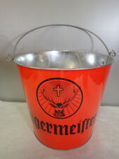 "Hunting Fishing Camp Cabin Lodge Essentials JÃ""Germeister Ice Bucket Blaze Orange"