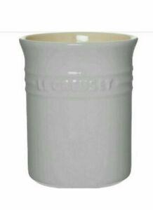 Le Creuset Utensil holder/Jar - Light Grey (NEW)