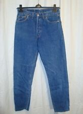 VTG Levi's 510 men's straight leg button fly blue jeans W32 L32 great co UK made