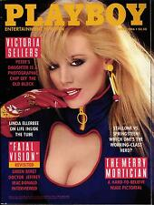 PLAYBOY US 4/1986 April - Victoria Sellers, Jefrey Mac Donald, Tery Weigel