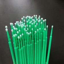 800pcs New Brand Dental Disposable Micro Applicator Brush 2.0mm Green Fine