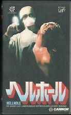 HELLHOLE - 1985 VHS TAPE JPN Pierre De Moro HORROR MOVIE CULT RARE OOP NTSC