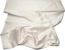 100% Pure Natural Silk Hand Loomed Fabric Selling per Yard Cream-05