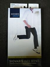 Sigvaris Soft Opaque - 15-20 mmHg Calf Knee High Compression Stockings size B