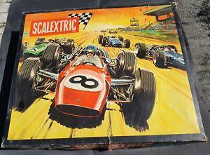 Scalextric Circuit ref 30 GT Lotus / Cooper Meccano Triang