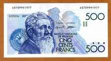 Belgium 500 Francs (1980-1981) P-141, UNC>  Constantin Meunier
