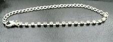 New Bridal Prom Silver Clear Crystal Rhinestone Bracelet》Adjustable》15 Gems