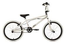 BMX Freestyle 20'' Fatt Blanc-Noir Rotor 360° Freins V-Brake KS Cycling 602B