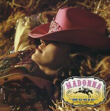 MADONNA Music (2000 U.S. Promo CD Single w/Painted Label and Inserts)