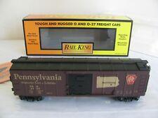 Vintage MTH Rail King O/O-27 Scale Pennsylvania State Box Car #30-74100 EX