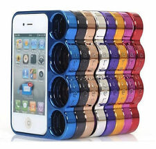 iPhone 4 4s Knuckle Hülle Case Cover Schlagring Bumper Schutz Hingucker Bag