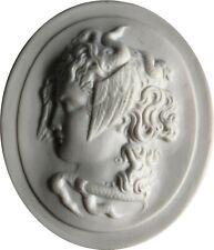Meissen Porzellan Medaille - Staatliche Museen Berlin - Kopf der Medusa