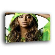 Green Canvas Portrait Art Prints