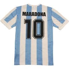 Maglietta MARADONA 10 Argentina 1986 maglia da calcio retro vintage mondiali 86