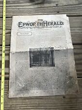 The Epworth Herald Sept 25th 1897 Chicago & New York