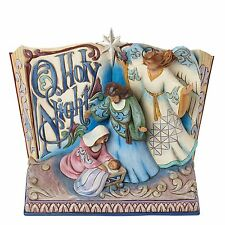 Heartwood Creek O Holy Night Song Book Scene by Jim Shore NEW  25422