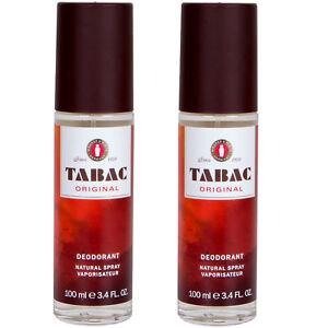 Tabac Original Déodorant Naturel Spray 2 X 75ml