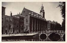R188920 Leiden. Rapenburg met Academie. HEMA. 1947