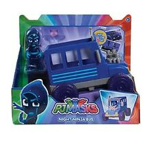 Disney Junior PJ Masks Night Ninja Bus NEW 2017 Vehicle & Figure