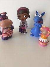 Disney Doc Mcstuffins, Hallie Hippo, Blue Dragon Bath Figures