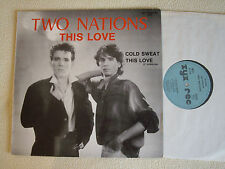 """TWO NATIONS - This Love 12"""" Maxi Zyx Records 1986"""