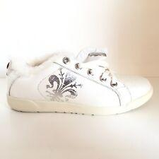 LOTTO LEGGENDA scarpe shoes n. 38 donna woman LTTW51 bianco pelle