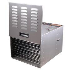 1200W 10 Tray Food Dehydrator Stainless Steel Fruit Dryer Jerky Maker Commercial