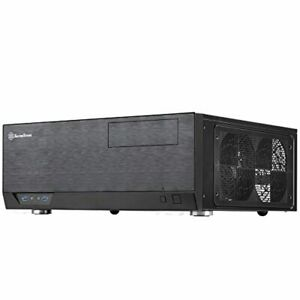 SilverStone Technology Home Theater Computer Case (HTPC) with Faux Aluminum Desi