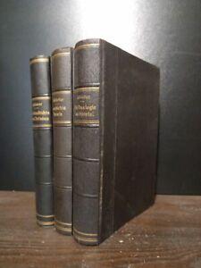 Konvolut aus 3 Bänden: Geschichte Israels von Alexander dem Großen bis Hadrian.