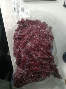 Original Beef Jerky 10 pounds Lbs Bulk Dakota Trails Moist Kippered