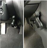 Magnet Concealed Gun Pistol Holder Holster for car motor desk bed door wall F04