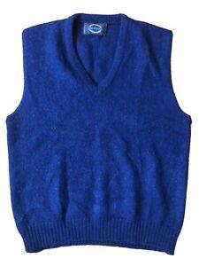 Vtg Jantzen Cream Washable Wool Vest L