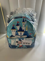 IN HAND Mickey Minnie Mouse Mini Backpack Loungefly Disneyland 65th Anniversary