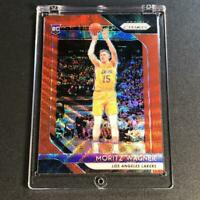MO WAGNER 2018 PANINI PRIZM #284 RUBY WAVE REFRACTOR ROOKIE RC WIZARDS NBA