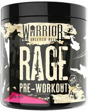 All New Warrior Rage Pre Workout Powder 45 Servings Strong Pump Improved Flavour